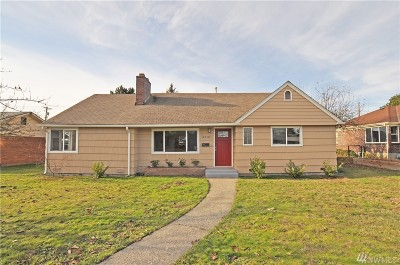 Tacoma Single Family Home For Sale: 6310 Tacoma Ave S