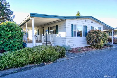 Auburn WA Mobile Home For Sale: $55,000