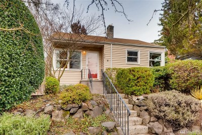 Seattle Single Family Home For Sale: 836 NW 58th St