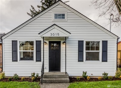 Bellingham Single Family Home For Sale: 3015 Elm St