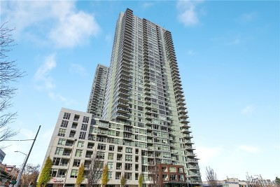 Seattle Condo/Townhouse For Sale: 588 Bell St #2406