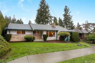 Seattle Single Family Home For Sale: 7526 40th Ave NE