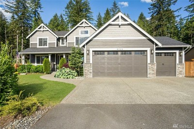 Granite Falls Single Family Home For Sale: 8925 164th Ave NE