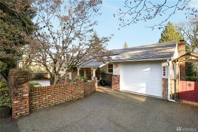 Mercer Island Single Family Home For Sale: 3642 90th Ave SE