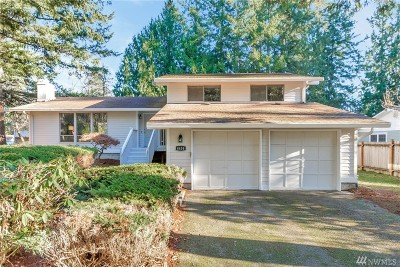 Port Orchard Single Family Home For Sale: 4454 Meadow Place SE