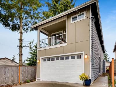 Seattle Single Family Home For Sale: 10612 2nd Ave SW
