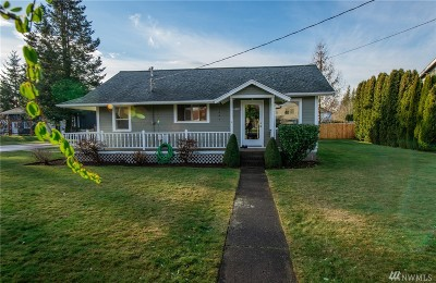 Lynden Single Family Home Sold: 8589 Bender Rd