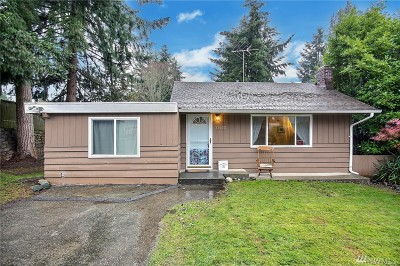 Burien Single Family Home For Sale: 15655 11th Ave SW