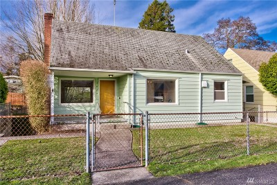 Seattle Single Family Home For Sale: 3029 48th Ave SW