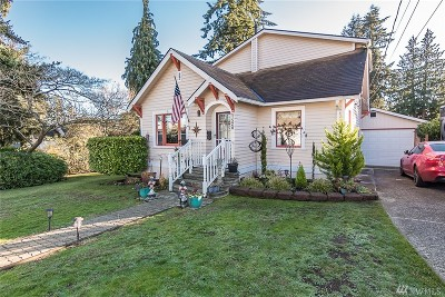 Everett Single Family Home For Sale: 1520 72nd St SE