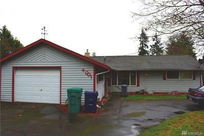 Mountlake Terrace Single Family Home For Sale: 4001 220th St SW