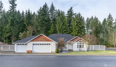 Gig Harbor Single Family Home Pending Inspection: 13626 13th Ave NW