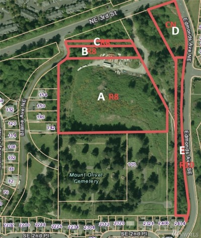 Renton Residential Lots & Land For Sale: 2301 NE 4th St