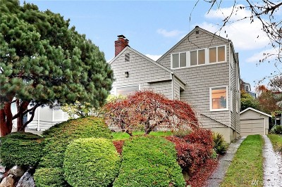 Seattle Single Family Home For Sale: 2530 29th Ave W
