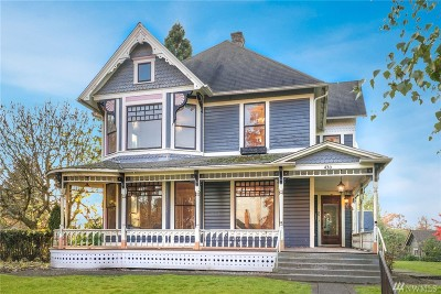 Snohomish Single Family Home For Sale: 430 Avenue B