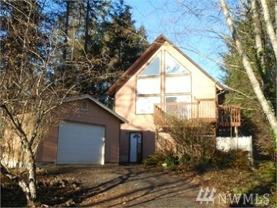 Shelton WA Single Family Home For Sale: $179,500