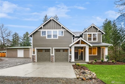 North Bend, Snoqualmie Single Family Home For Sale: 7150 North Fork Rd SE