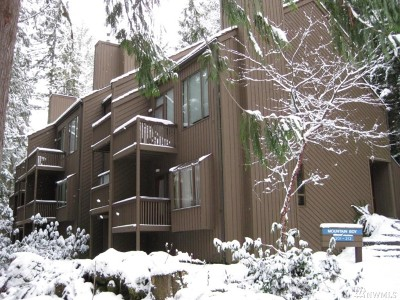 Glacier Condo/Townhouse For Sale: 10500 Mount Baker Hwy #407