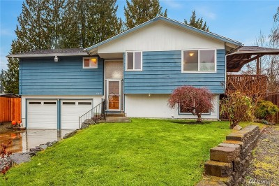 Lynnwood Single Family Home For Sale: 18619 42nd Place W