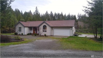 Shelton WA Single Family Home For Sale: $295,000