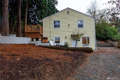 Seattle Single Family Home For Sale: 5634 S Leo St #A & B