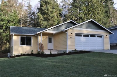 Coupeville Single Family Home Sold: 447 Cox St