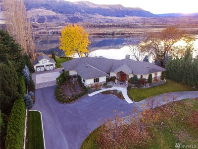 Chelan County, Douglas County Single Family Home For Sale: 5120 State Route 28