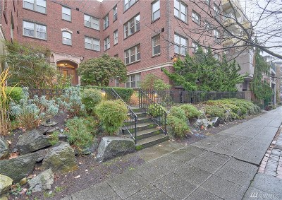 Seattle Condo/Townhouse For Sale: 124 Warren Ave N #111