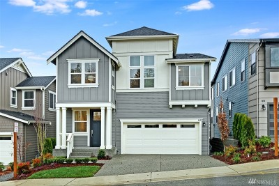 Sammamish Single Family Home For Sale: 1462 243rd Place NE #Lot54