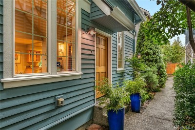 Seattle Single Family Home For Sale: 1915 24th Ave S #C