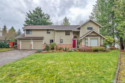 Olympia, Tumwater, Lacey Single Family Home For Sale: 7207 Twin Cedar Lane SE