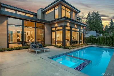 Medina Single Family Home For Sale: 1632 77th Ave NE