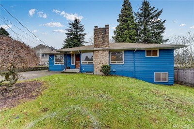 Burien Single Family Home For Sale: 14844 5th Ave S