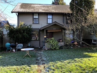 Bellingham Single Family Home For Sale: 1132 Grant