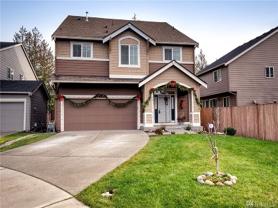 Puyallup Single Family Home For Sale: 8122 175th St E