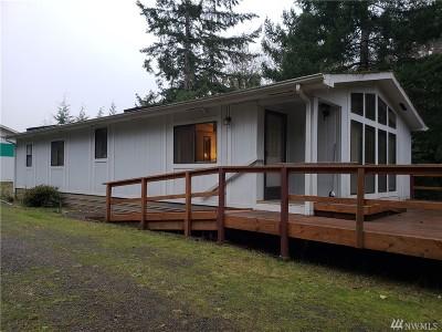 Mason County Single Family Home Pending Inspection: 1551 E Phillips Lake Loop Rd