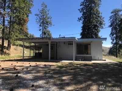 Chelan Single Family Home For Sale: 418 Antoine Creek Rd