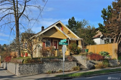 Seattle Single Family Home For Sale: 4167 38th Ave S