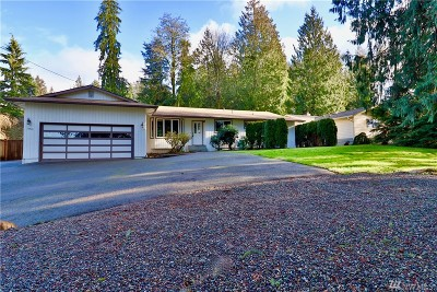 Snohomish Single Family Home For Sale: 17721 Butler Rd