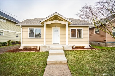Anacortes Single Family Home Sold: 1207 12th St