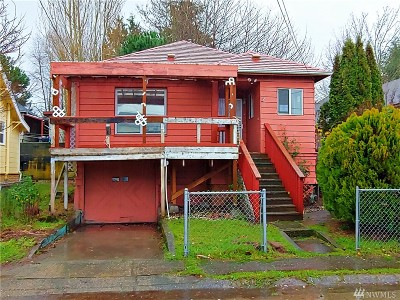 Bremerton Single Family Home For Sale: 308 Olympic Place