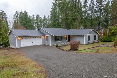 Yelm Single Family Home For Sale: 18433 Hames St SE