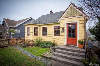 Bellingham Single Family Home Sold: 2519 Vallette St