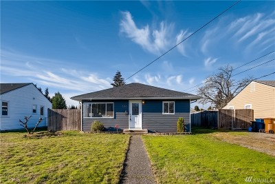 Tacoma Single Family Home For Sale: 636 S Rochester St