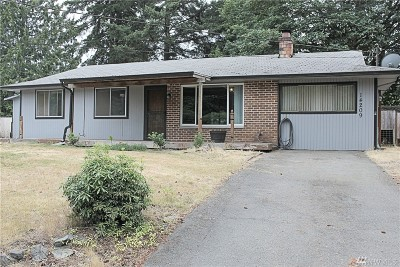 Puyallup WA Single Family Home For Sale: $272,200