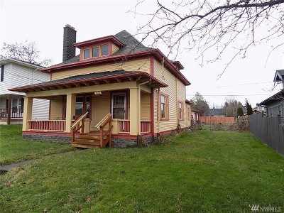 Bellingham Single Family Home Sold: 2312 Cornwall Ave