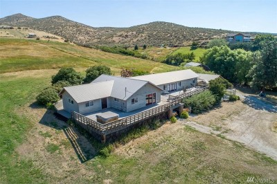 Wenatchee Single Family Home For Sale: 3613 McMullan Road