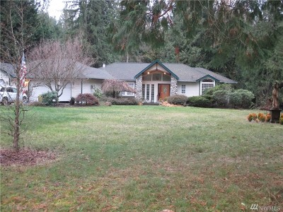 Enumclaw Single Family Home For Sale: 36915 249th Ave SE