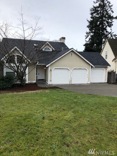Federal Way Single Family Home For Sale: 30827 3rd Place S