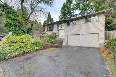 Bothell Single Family Home For Sale: 10820 NE 149th St